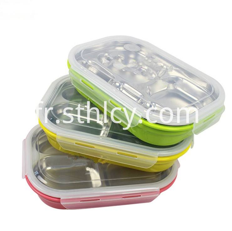 Stainless Steel Lunch Boxhl636ah